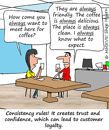 3 C of customer services